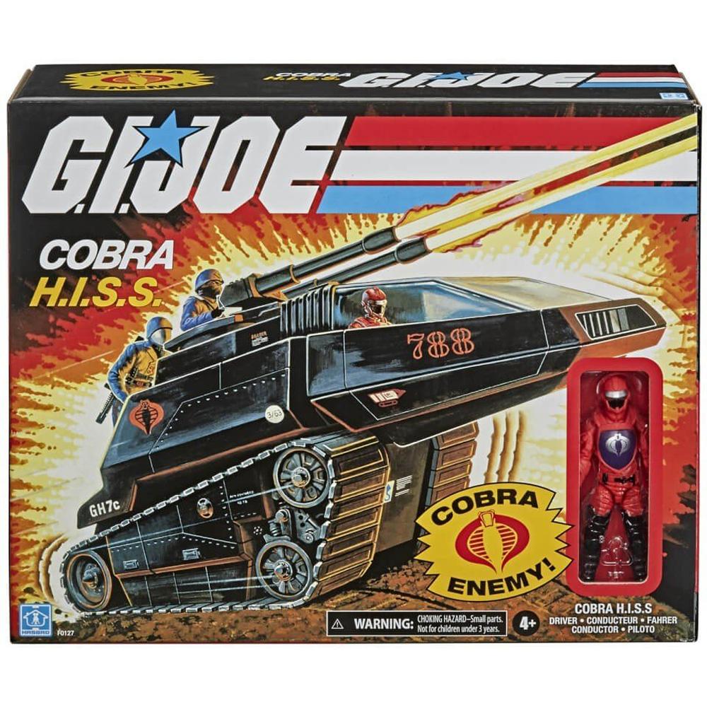 G.I.Joe Retro Collection: Cobra H.I.S.S. en caja