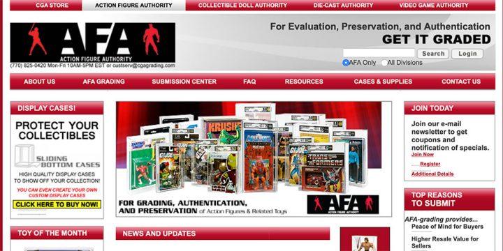 La AFA: Action Figure Authority