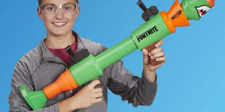 Las armas Nerf de Fortnite