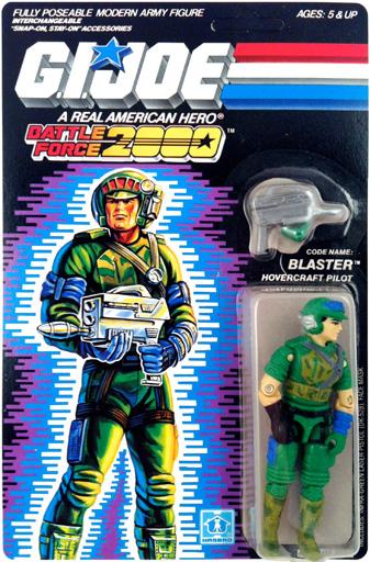 Blaster G.I. Joe