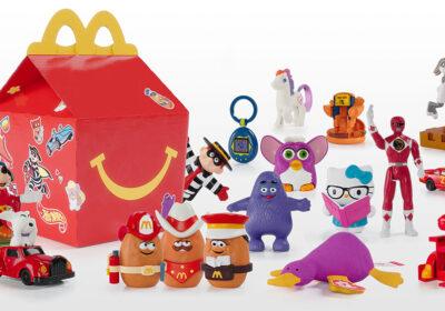 La Cajita Feliz McDonald's incluyó juguetes retro para celebrar sus 40 años
