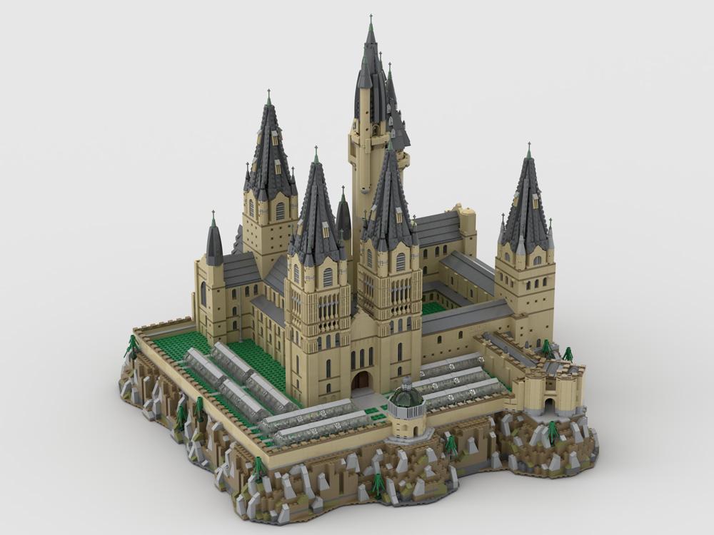 Castillo Hogwarts de LEGO 3
