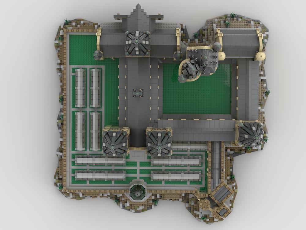 Castillo Hogwarts de LEGO 5