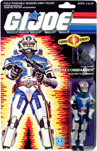 Cobra Commander with Battle Armor G.I. Joe