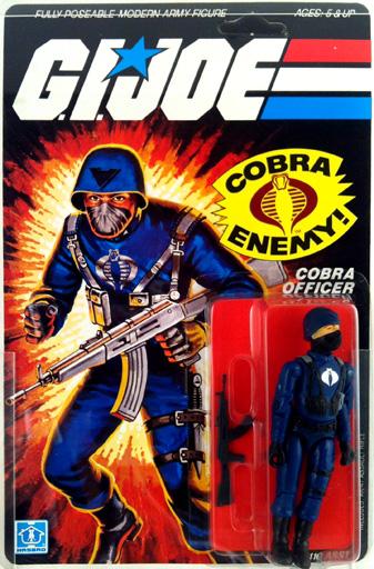 Cobra Officer G.I. Joe
