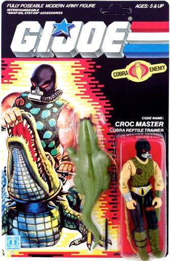 Croc Master G.I. Joe