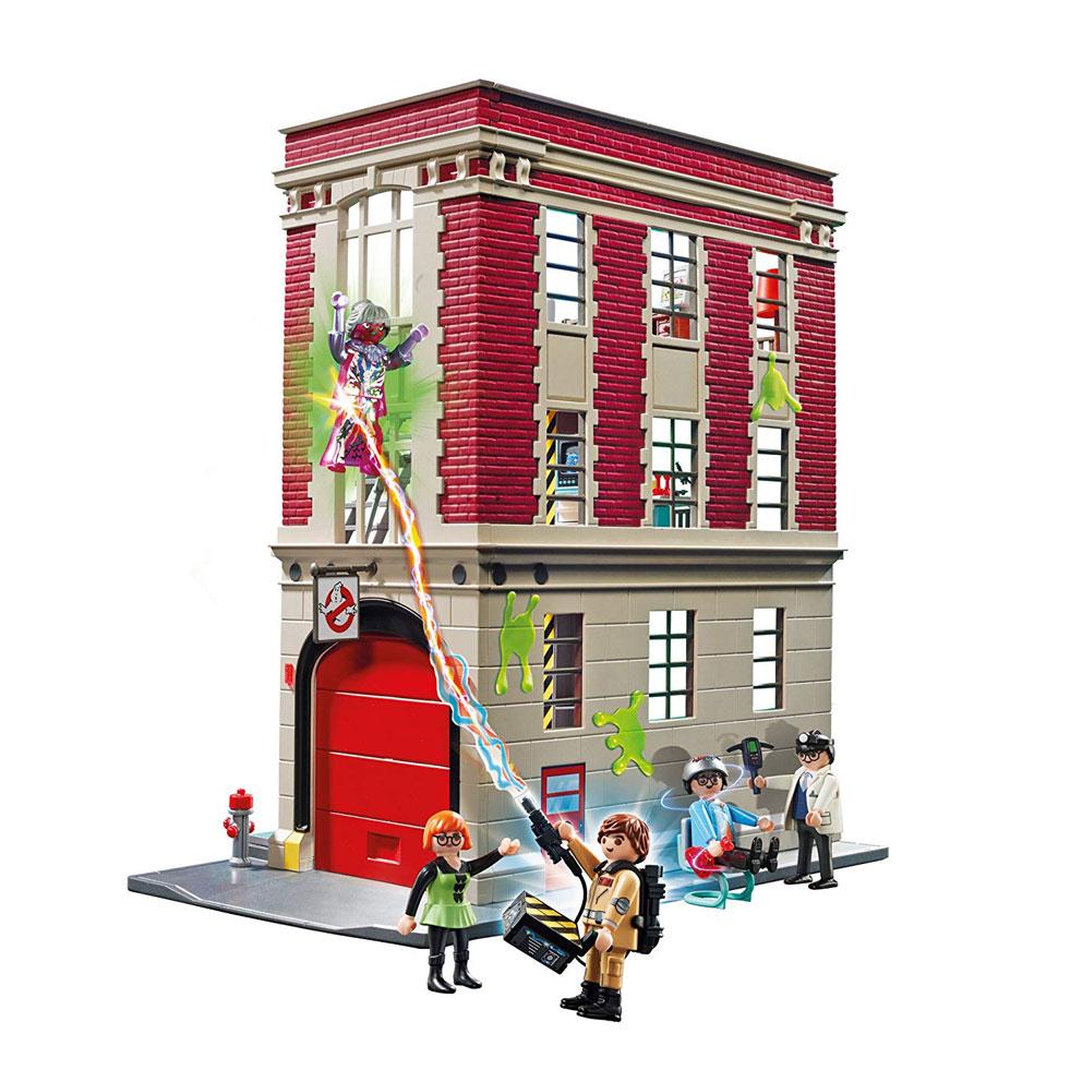Cuartel de Cazafantasmas Playmobil