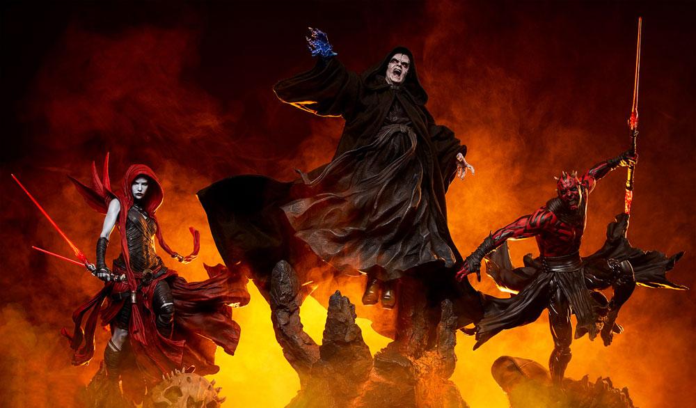 Escultura de Darth Sidious Mythos Sideshow