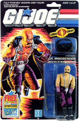 Dr. Mindbender G.I. Joe