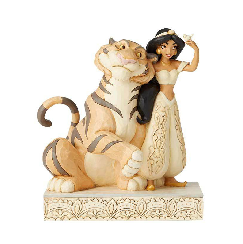 Figuras de la Princesa Jasmín y Rajah Disney Traditions