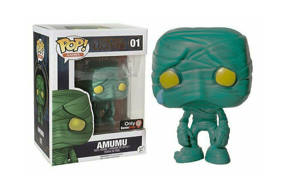 Figura de Amumu League of Legends Funko Pop