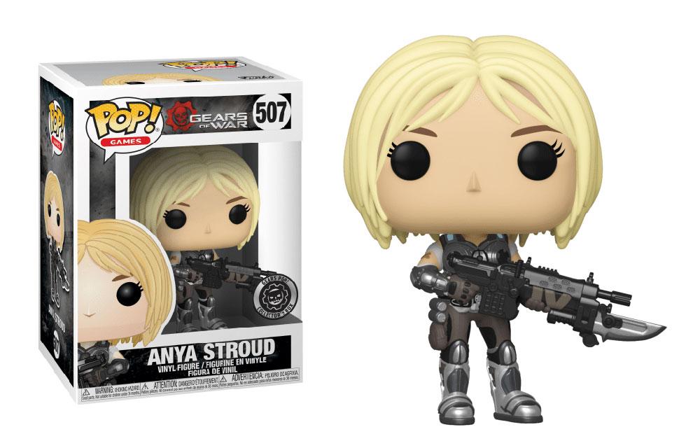 Figura de Anya Stroud Gears of War Funko Pop