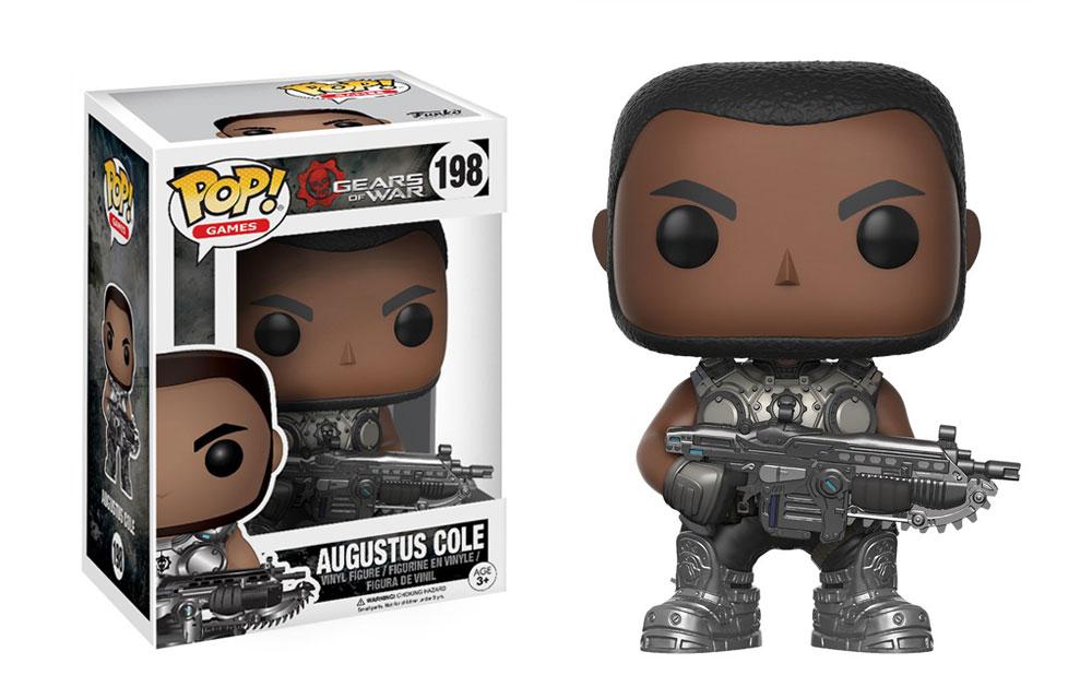 Figura de Augustus Cole Gears of War Funko Pop 198