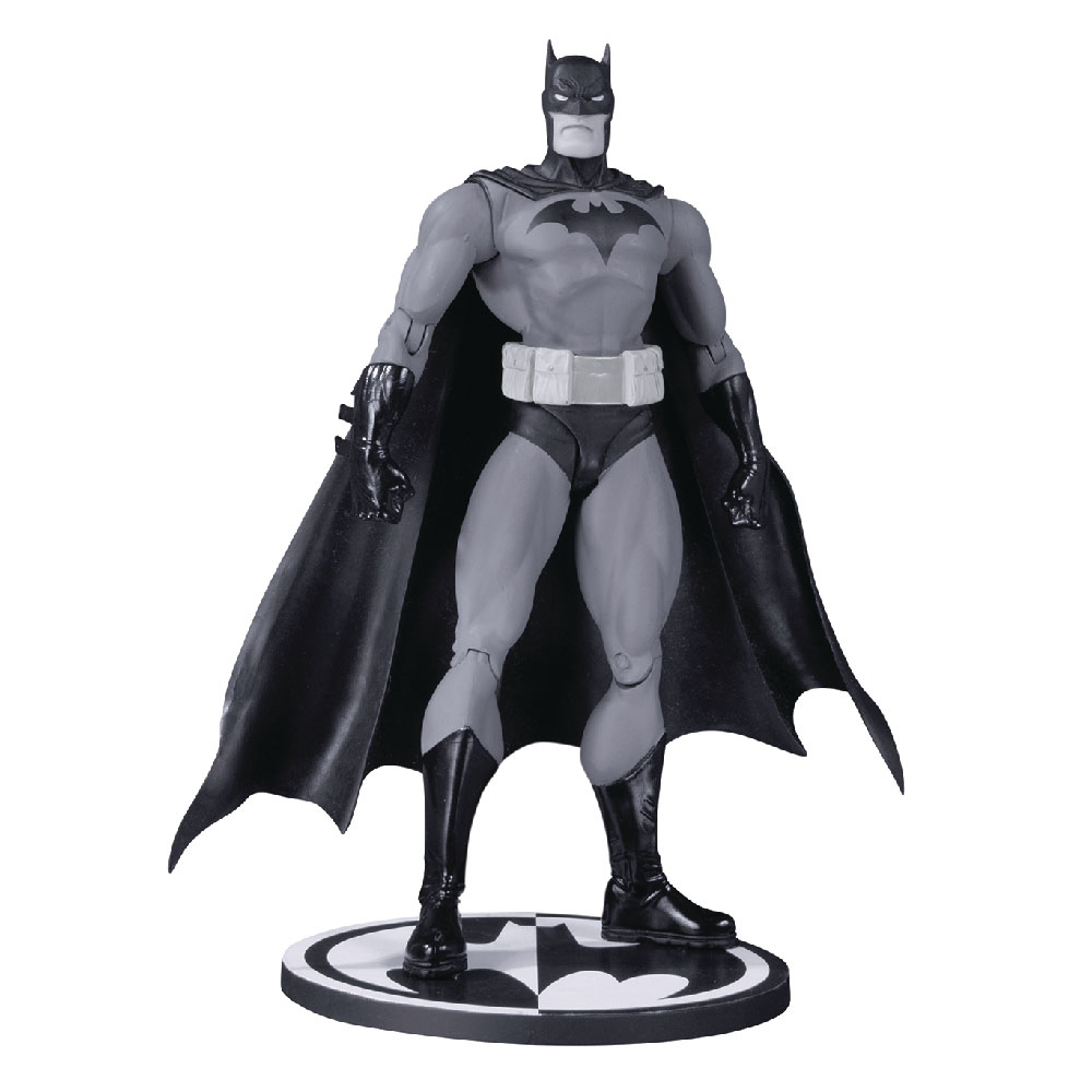 Figura de Batman Black & White Jim Lee DC Multiverse