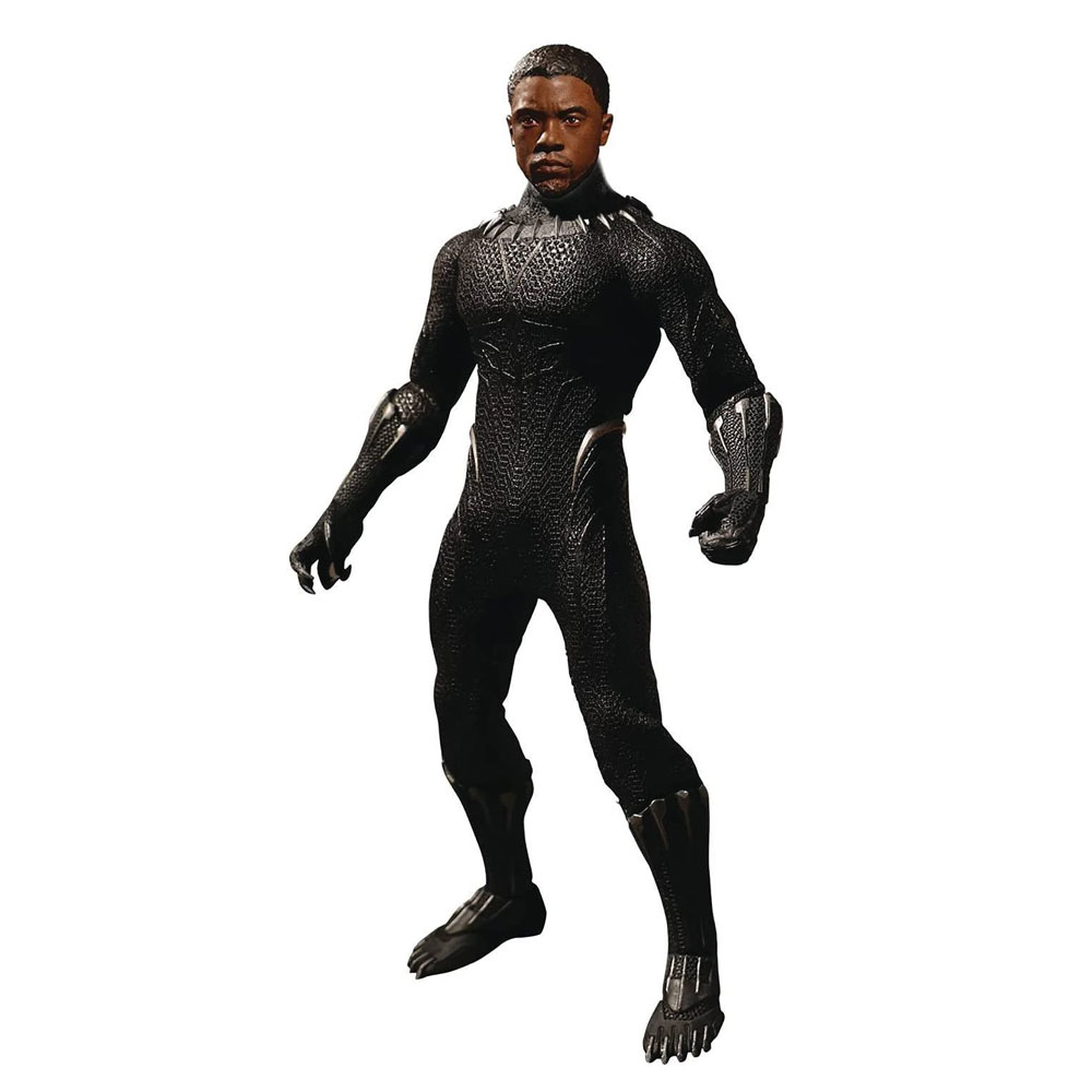 Figura de Black Panther One:12 Collective Mezco