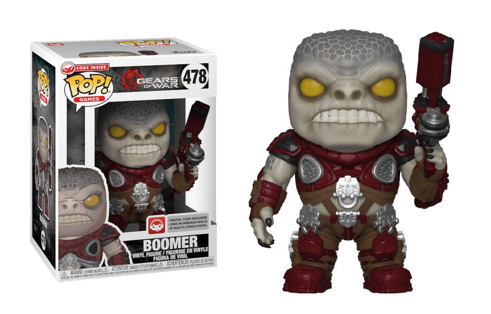 Figura de Boomer Gears of War Funko Pop