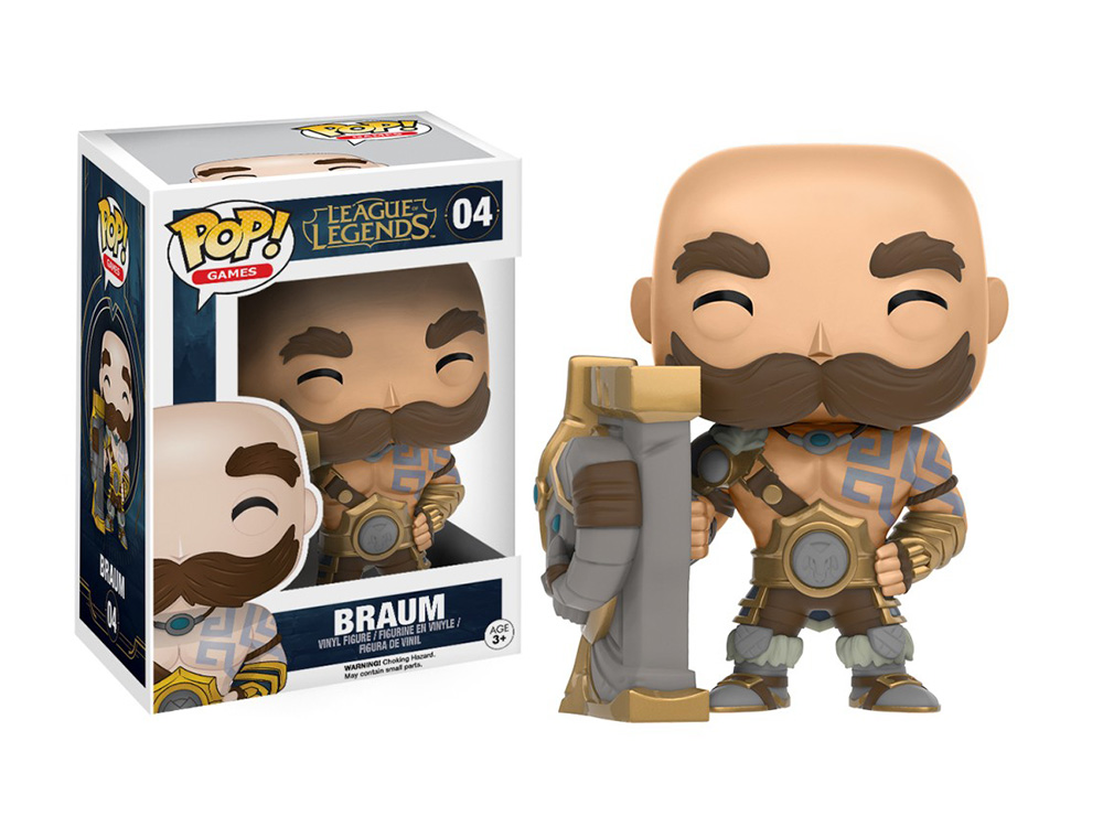 Figura de Braum League of Legends Funko Pop