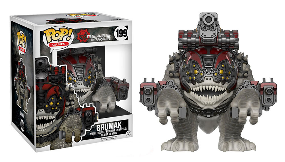 Figura de Brumak Gears of War Funko Pop 199