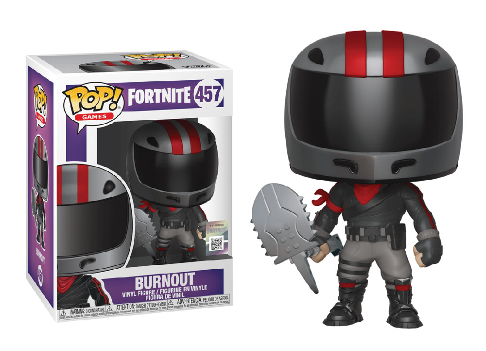 Figura de Burnout Fortnite Funko Pop