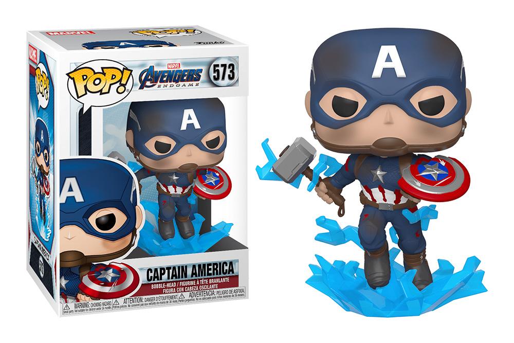Figura del Capitán América Funko Pop