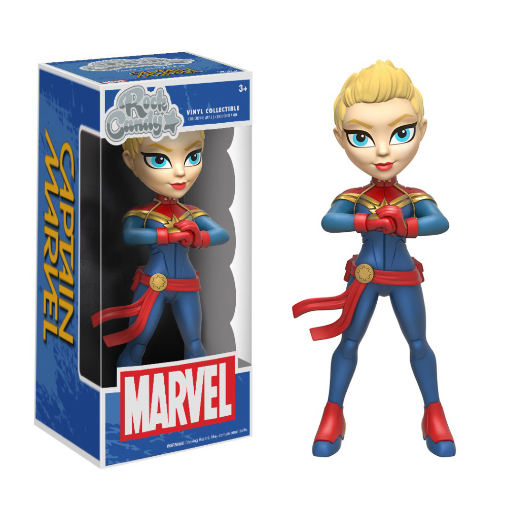 Figura Captain Marvel de Rock Candy