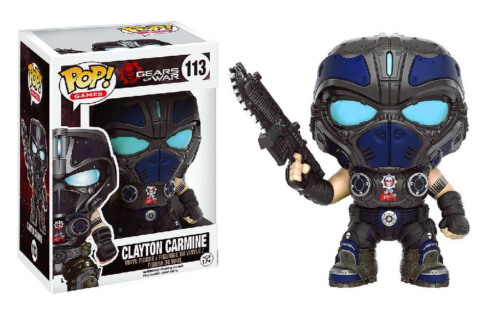 Figura de Clayton Carmine Gears of War Funko Pop
