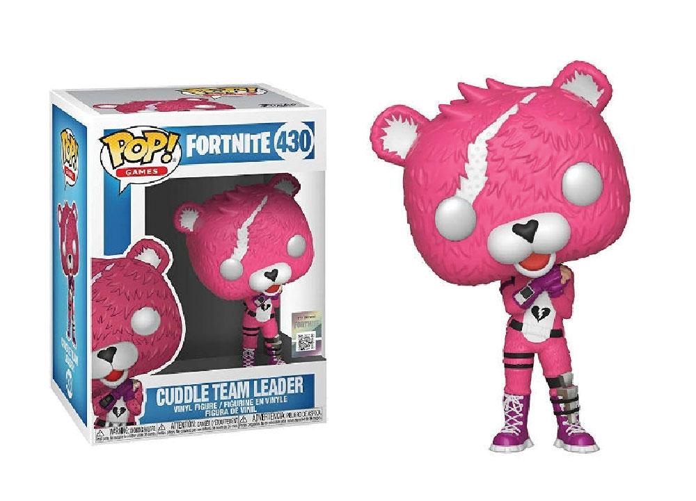 Figura de Cuddle Team Leader Fortnite Funko Pop