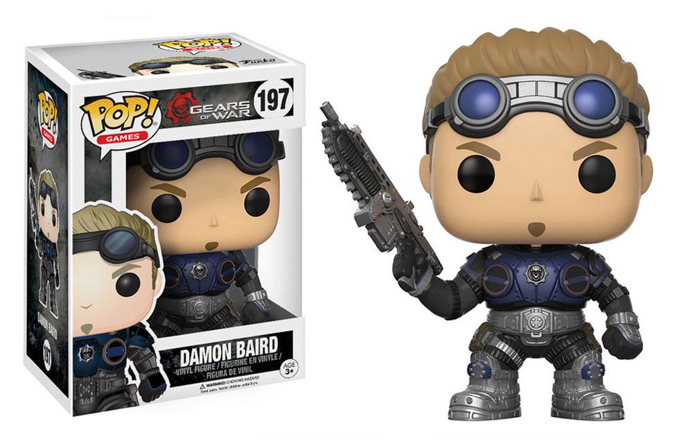 Figura de Damon Baird Gears of War Funko Pop 197