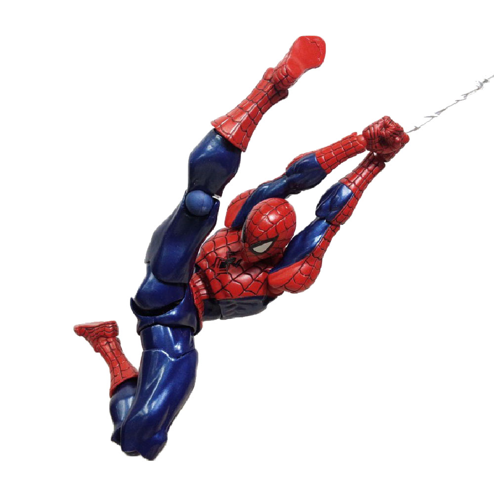 Figura de Spider-Man Kaiyodo Revoltech