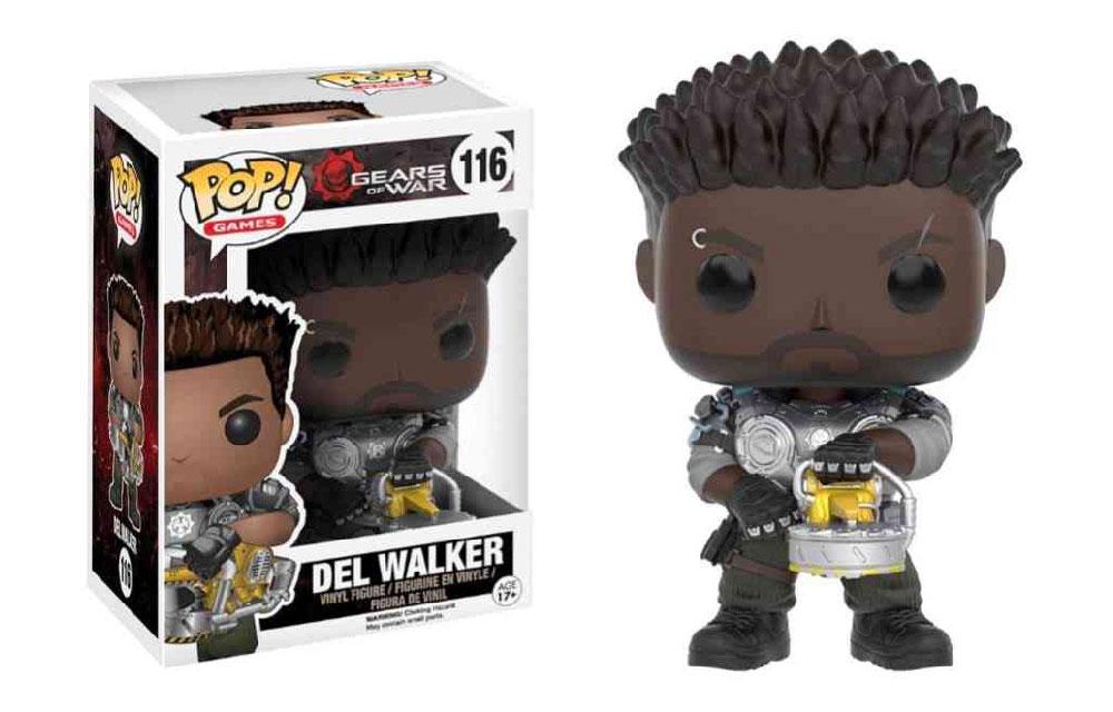 Figura de Del Walker Gears of War Funko Pop