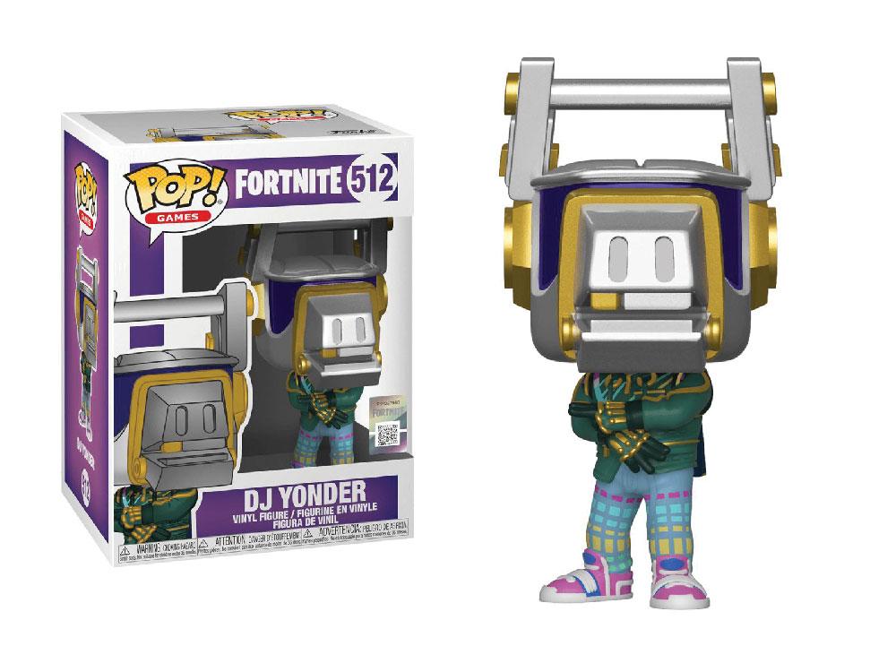 Figura de DJ Yonder Fortnite Funko Pop