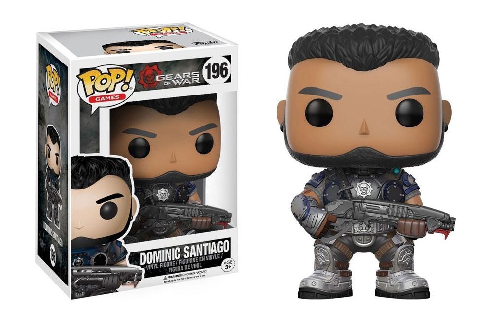 Figura de Dominic Santiago Gears of War Funko Pop 196