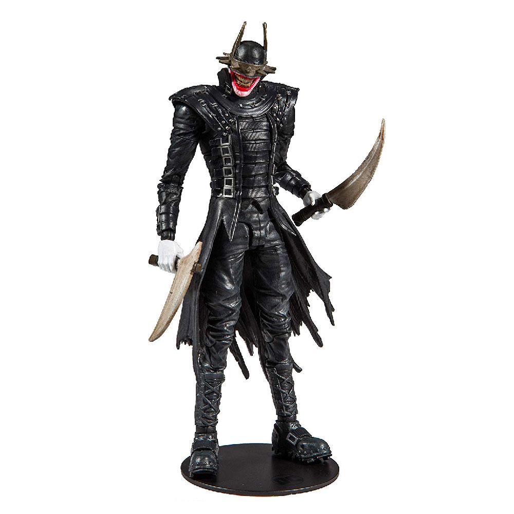 Figura de El Batman Que Ríe DC Multiverse McFarlane