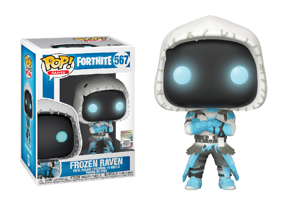 Figura de Frozen Raven Fortnite Funko Pop