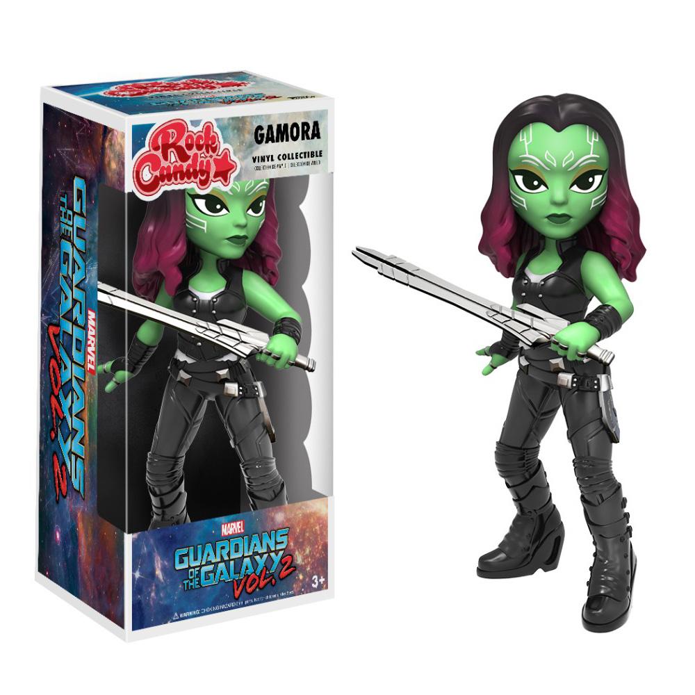 Figura Gamora de Rock Candy