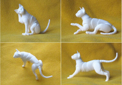 Figuras realistas de animales por Elleo Dolls