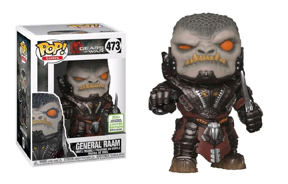 Figura del General RAAM Gears of War Funko Pop