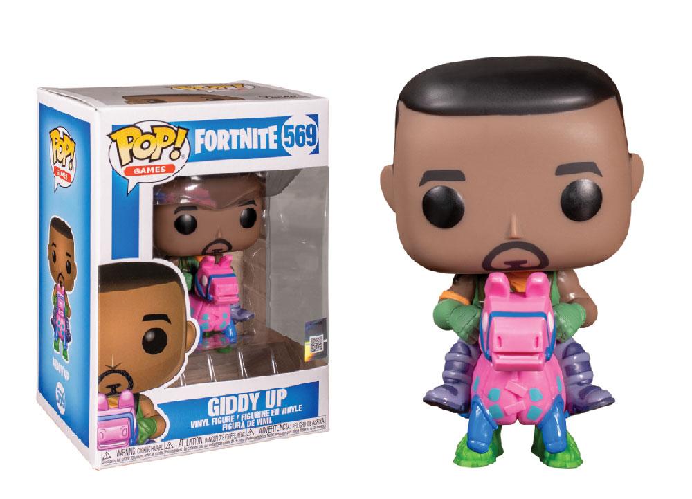 Figura de Giddy Up Fortnite Funko Pop