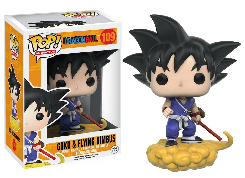 Figura Goku en nube de Funko Pop