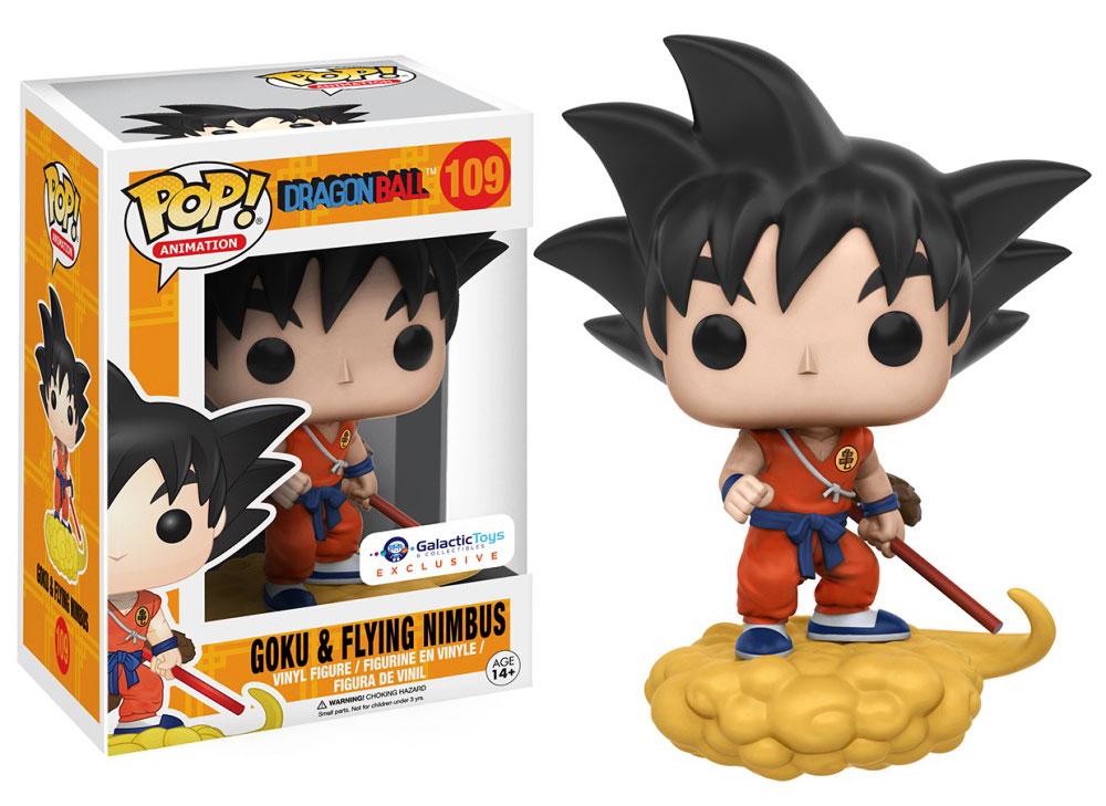 Figura Goku & Flying Nimbus de Funko Pop