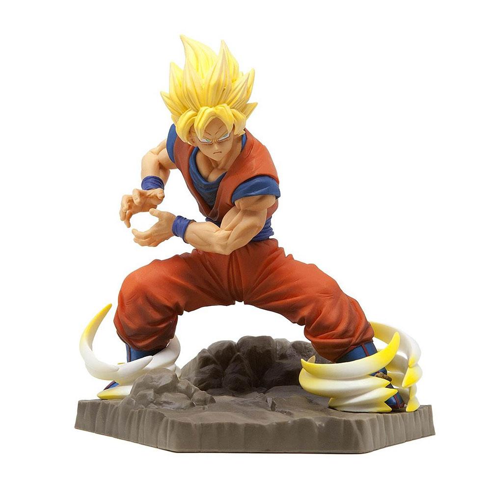 Muñeco de Goku Super Saiyan Absolute Perfection