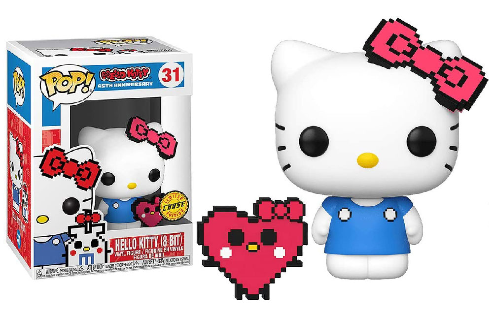 Figura de Hello Kitty 8 Bit Chase Funko Pop 31