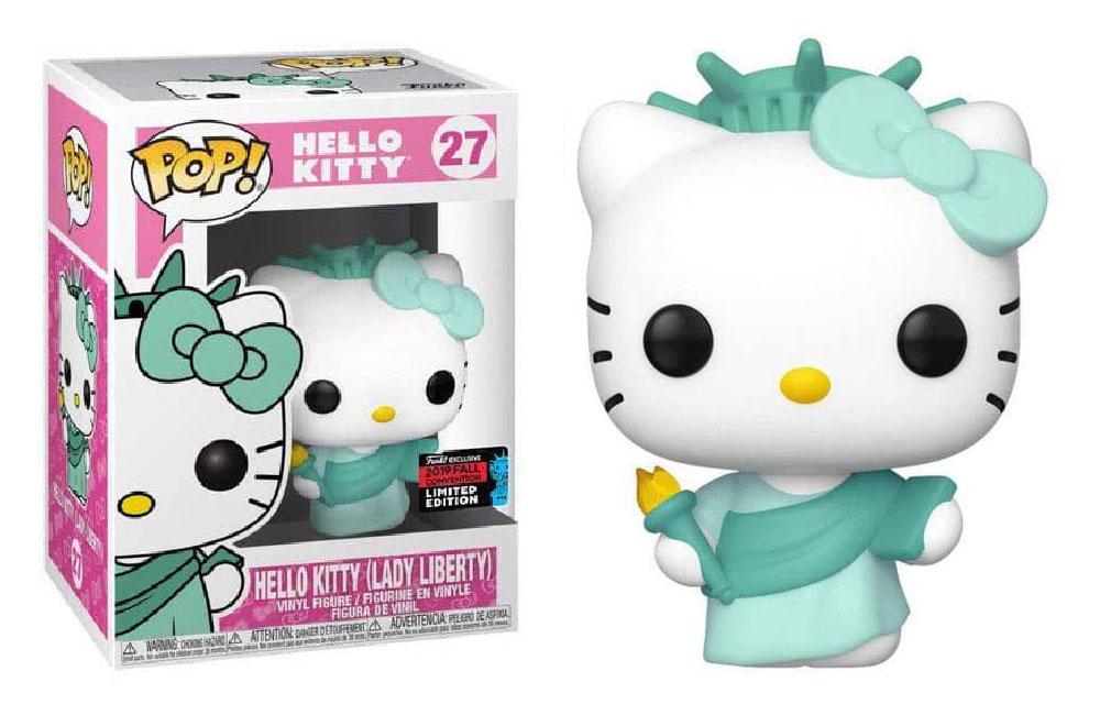 Figura de Hello Kitty Lady Liberty Funko Pop 27