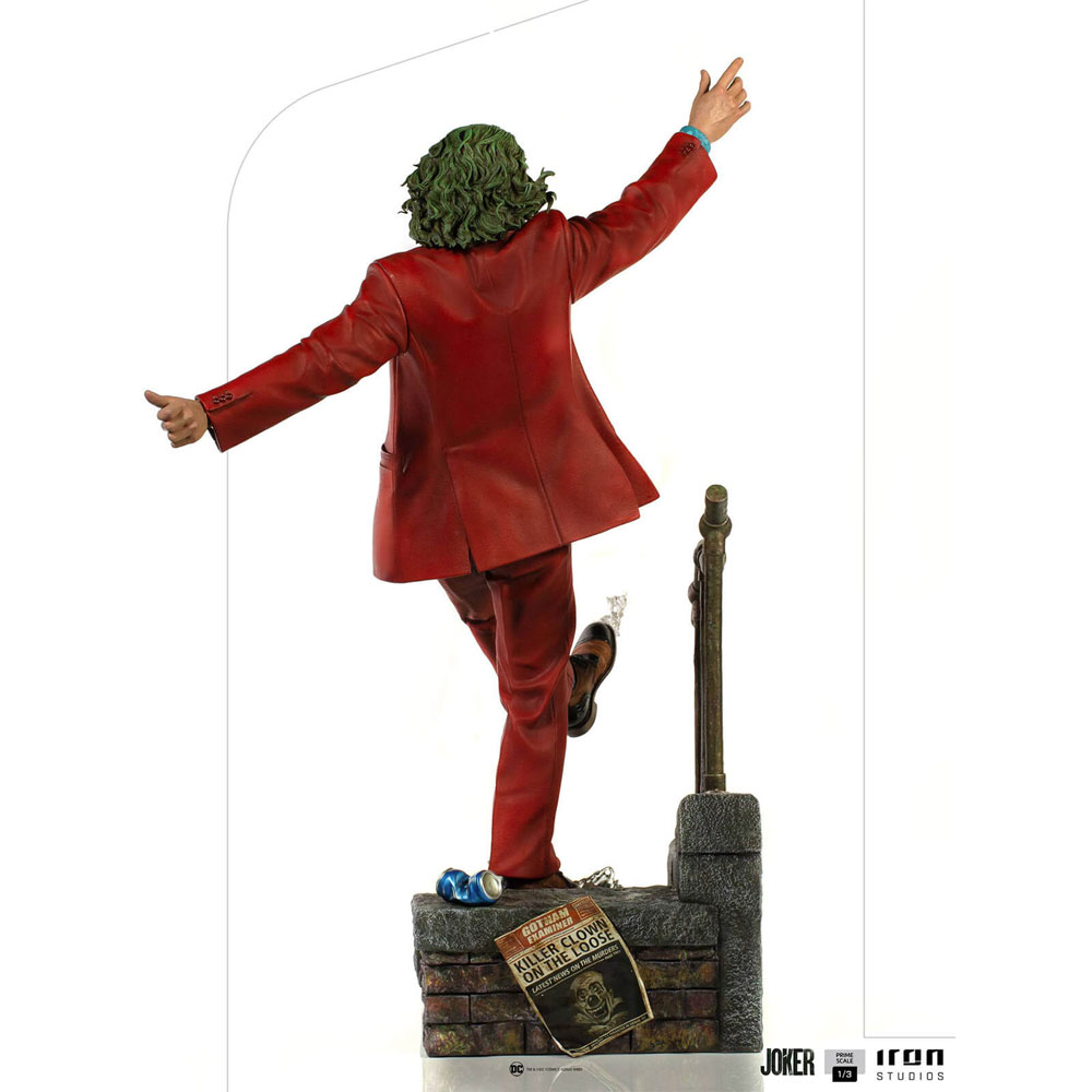 Figura del Joker Iron Studios 3