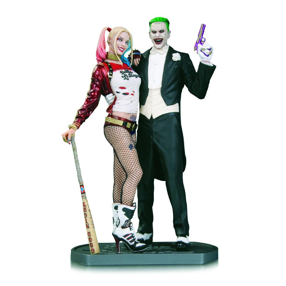 Figuras del Joker y Harley Quinn de DC Collectibles
