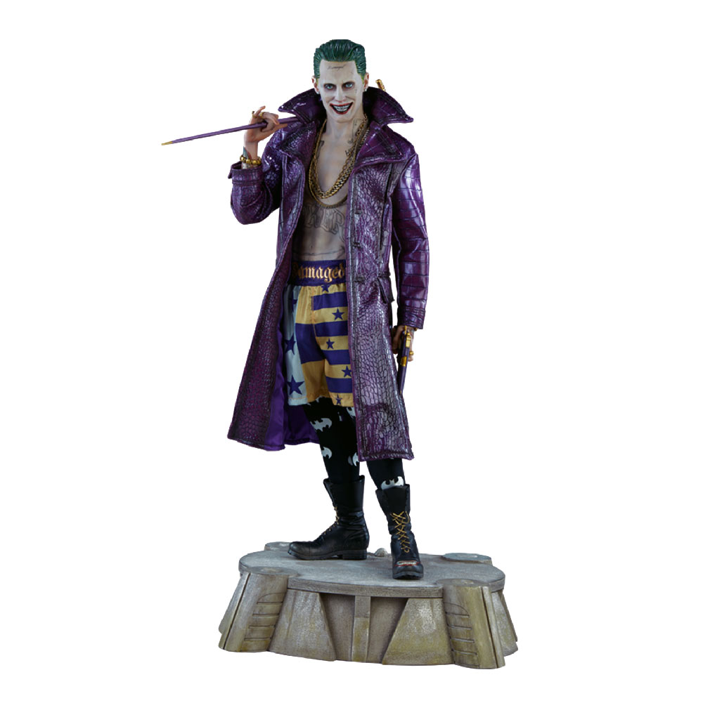 Figura del Joker de Jared Leto de Sideshow Premium Format