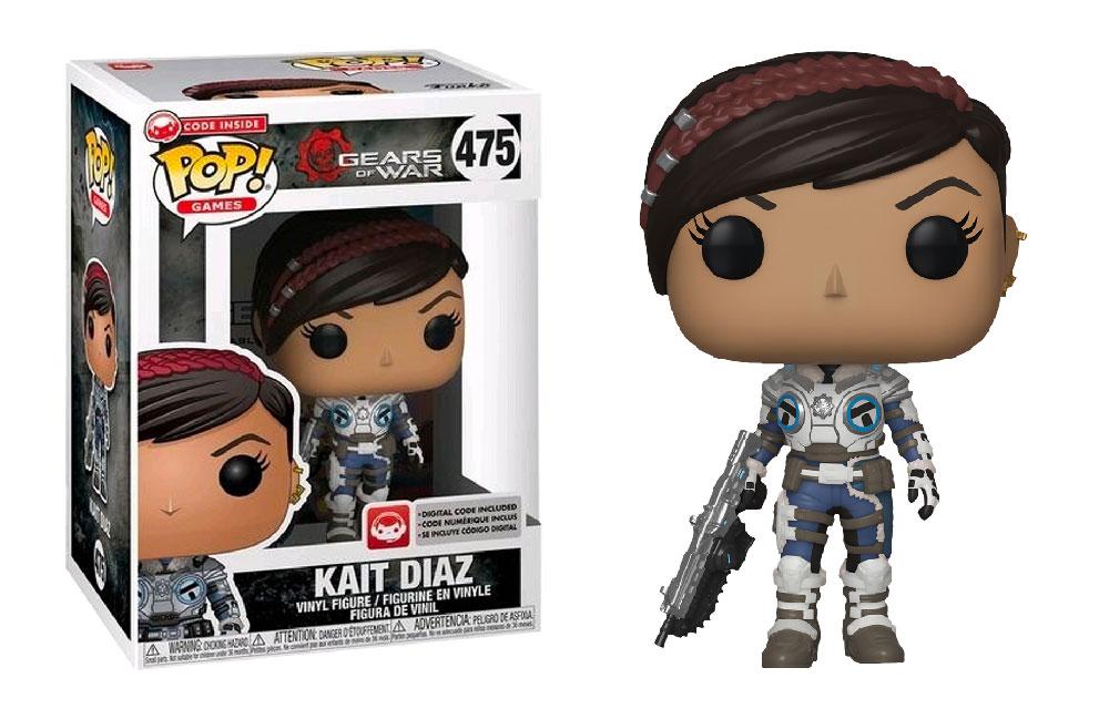 Figura de Kait Diaz Gears of War Funko Pop