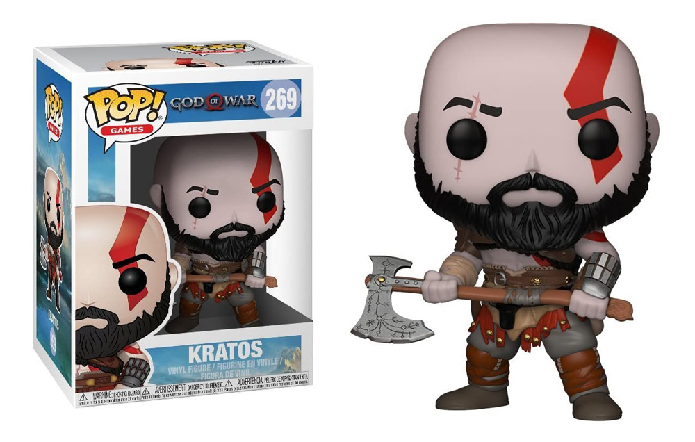 Figura de Kratos de God of War Funko Pop