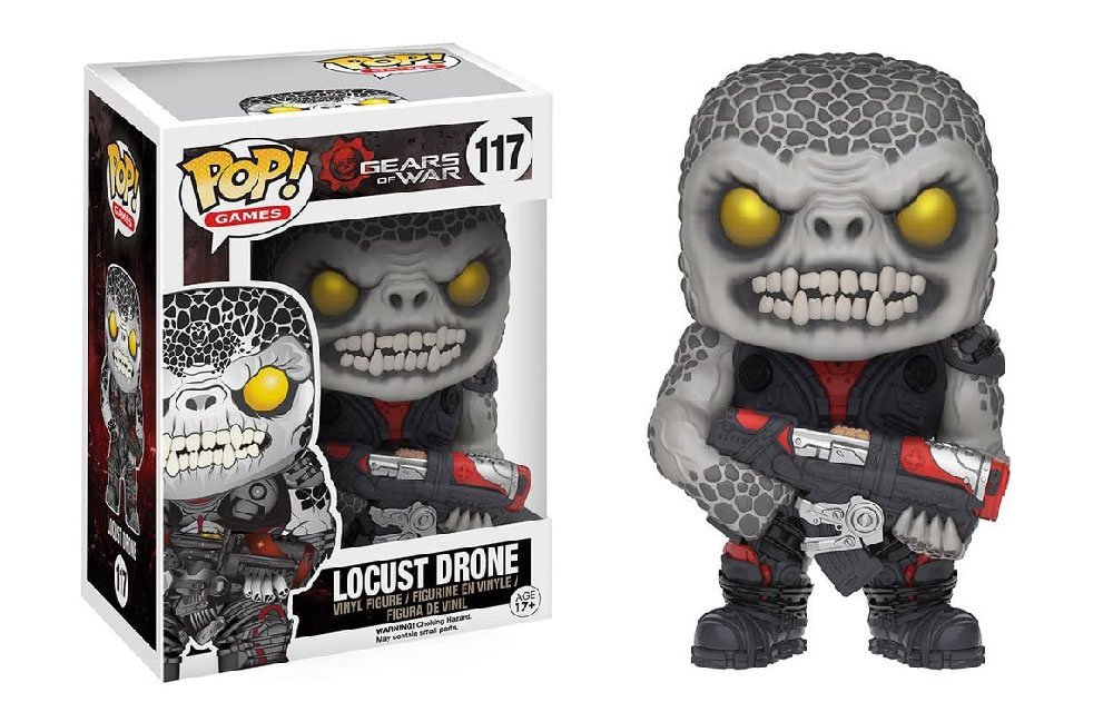 Figura de Locust Drone Gears of War Funko Pop