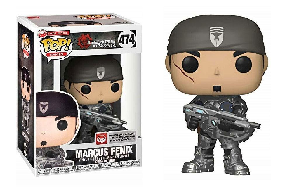 Figura de Marcus Fenix Gears of War Funko Pop